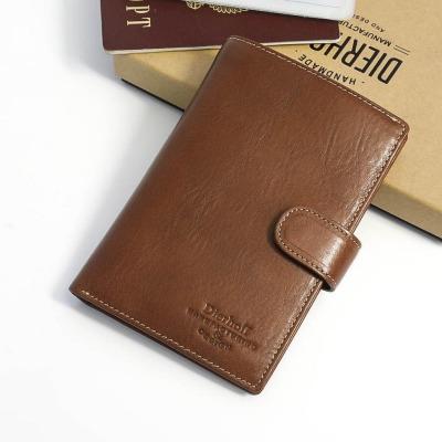 ea8767918ac7 Мужское кожаное портмоне для документов и денег Dierhoff Д 8109-047/2