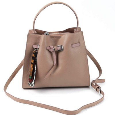 Женская кожаная сумка 2221 Хаки